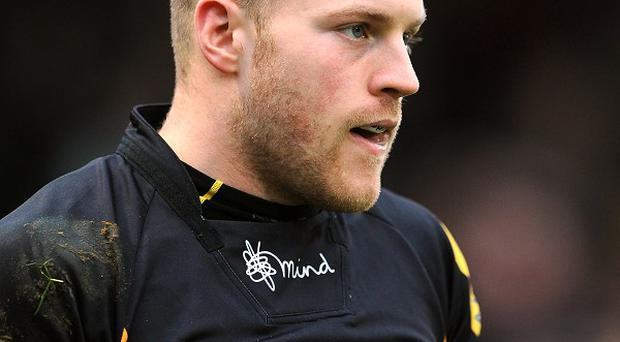Joe Simpson made his debut for Wasps in 2008