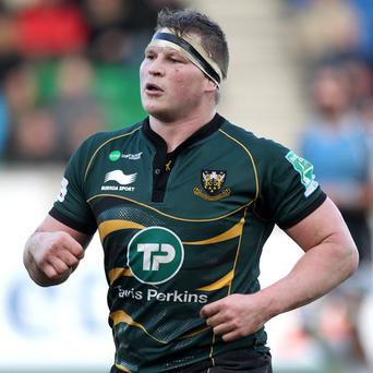 Dylan Hartley, pictured, was banned for 11 week after verbally abusing referee Wayne Barnes