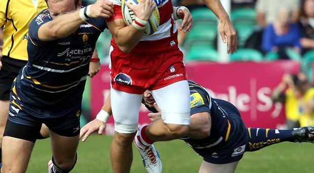 Jonny May injured his elbow against Toulon