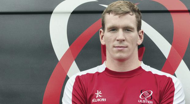 Bring it on: Ulster youngster Chris Farrell is relishing clash with Leinster after a long time out