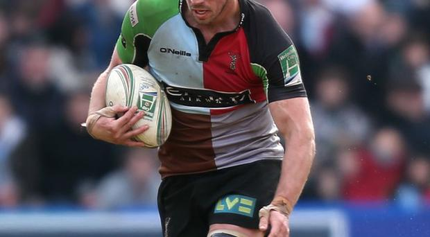 Chris Robshaw is sticking with Harlequins