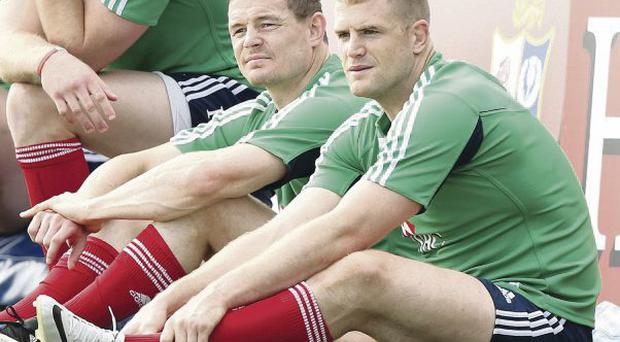 Backlash: Lions' players Brian O'Driscoll and Jamie Heaslip have both slammed manager Warren Gatland