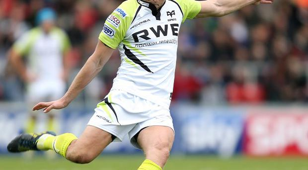 Dan Biggar kicked 14 points for Ospreys