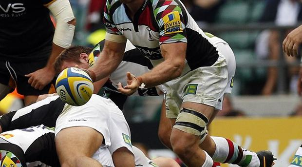 Chris Robshaw was relieved that they managed to beat a strong London Wasps side