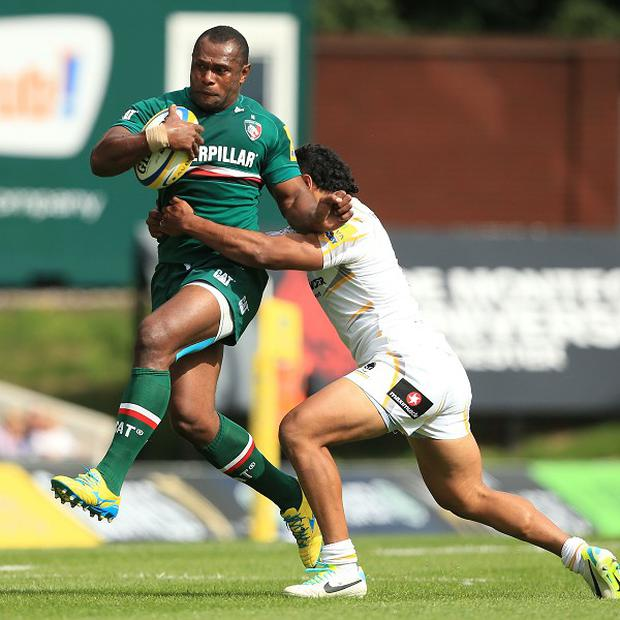 Vereniki Goneva scored a fabulous solo try to clinch the bonus point for Leicester