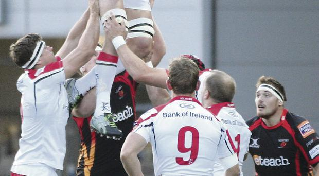 Up for it: Johann Muller insists Ulster will put the disappointment of Newport defeat behind them