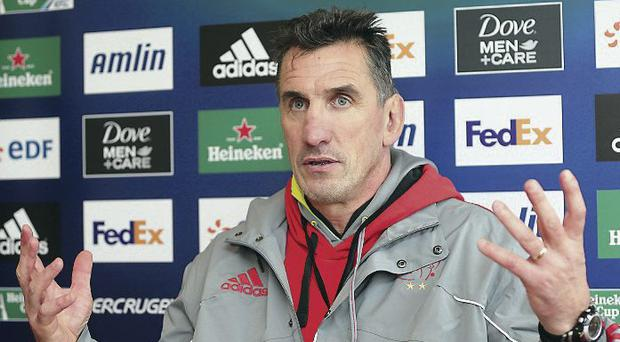 Euro stars: Rob Penney believes European Cup rugby will continue
