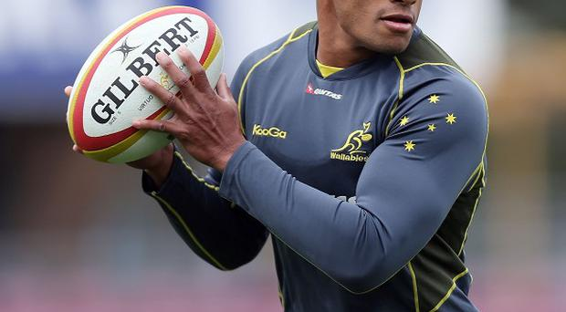 Will Genia has been dropped to the bench for the game with Argentina