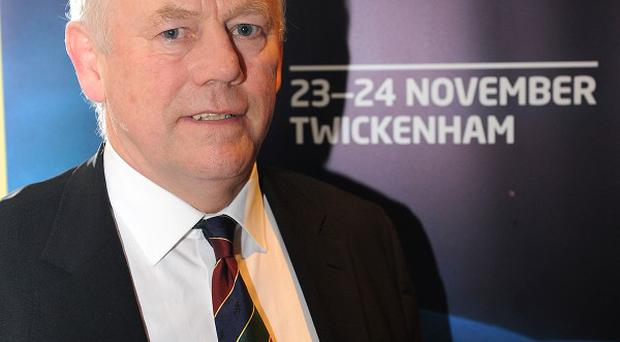 Peter Wheeler was a representative of the Aviva Premiership clubs at a meeting in Dublin
