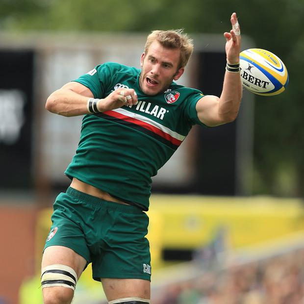 Tom Croft suffered knee ligament damage on club duty for Leicester last weekend