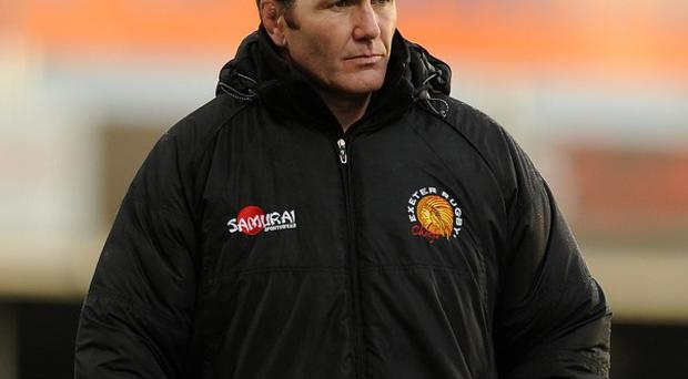 Rob Baxter was relieved to see Exeter hold on for victory
