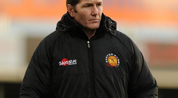 Exeter Chiefs' head coach Rob Baxter
