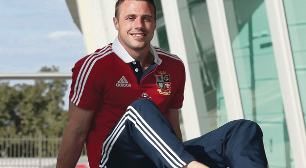Winging it back: Tommy Bowe is set for an Ulster comeback after being held back by the IRFU