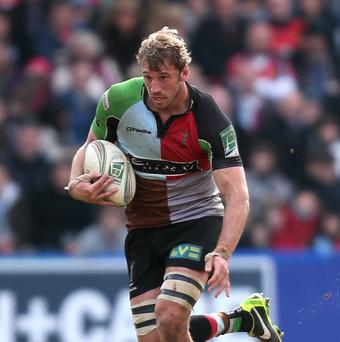 Chris Robshaw was the standout performer