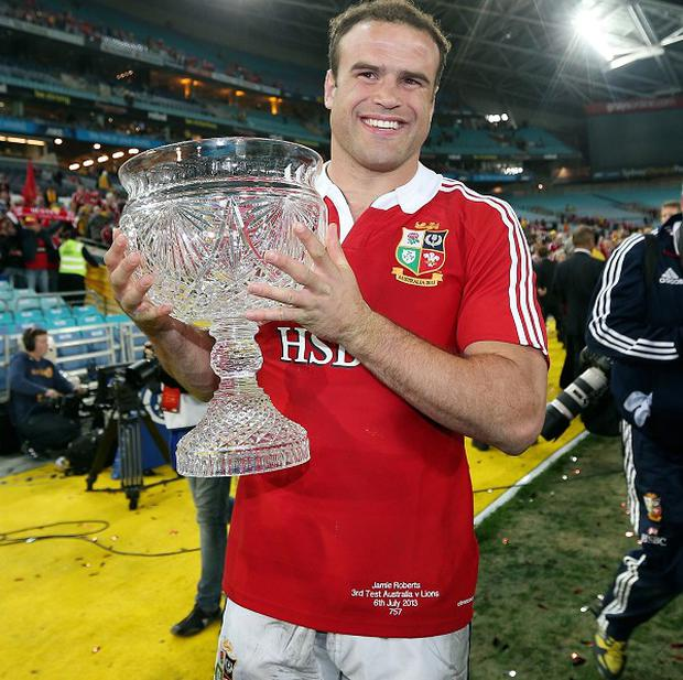 Jamie Roberts is a doubt for Wales after undergoing ankle surgery