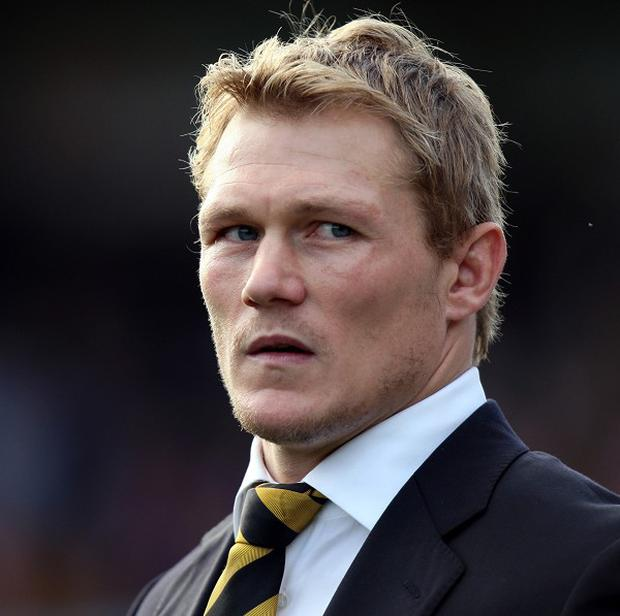 Josh Lewsey joined the WRU this year.