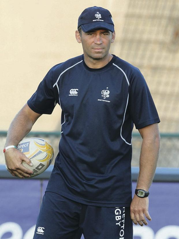 Treviso coach Franco Smith is hoping for a win at Ravenhill