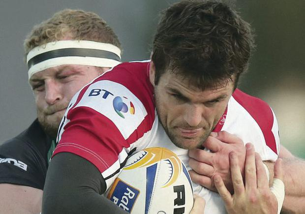 Chance: Jared Payne can't play for Ireland but is in the Ulster side