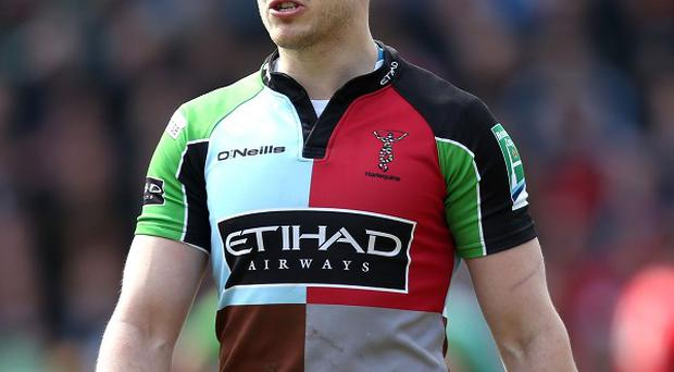Harlequins' Mike Brown is keen to assert his England claim.