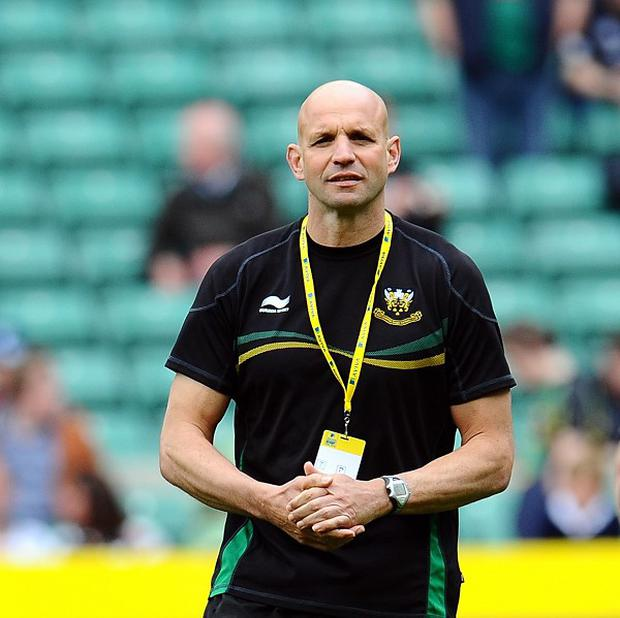 Northampton director of rugby Jim Mallinder is pleased George North has scored his first try for the club.