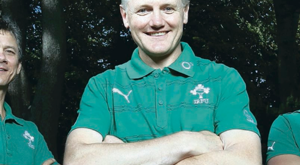 Close eye: Joe Schmidt will be having a look at his Irish players