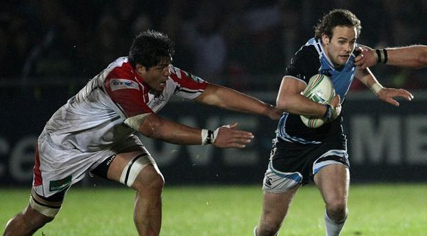 Nick Williams, left, has agreed a new deal with Ulster