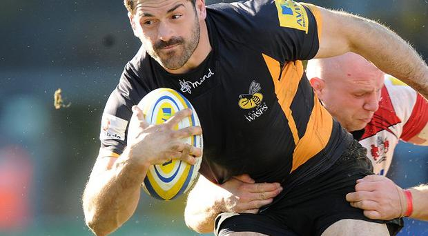 Andrea Masi, Wasps and Italy centre, is out for up to five months.