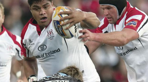Two-year extension: Ulster's Nick Williams accepts a new deal and says he would not want to play anywhere else