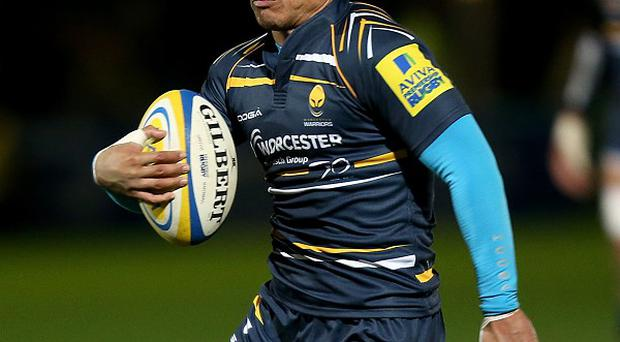 David Lemi scored a late try in vain for Worcester.