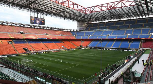Milan's San Siro stadium earmarked to stage the 2015 Heineken Cup final.