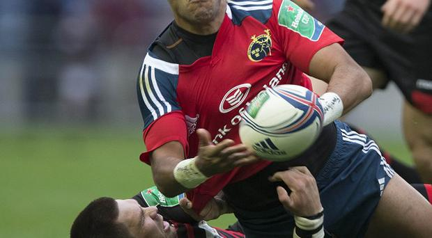 Simon Zebo could face 10 weeks on the sidelines