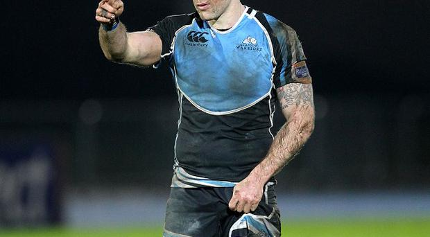 File photo dated 04/01/2013 of Glasgow Warriors' Graeme Morrison.