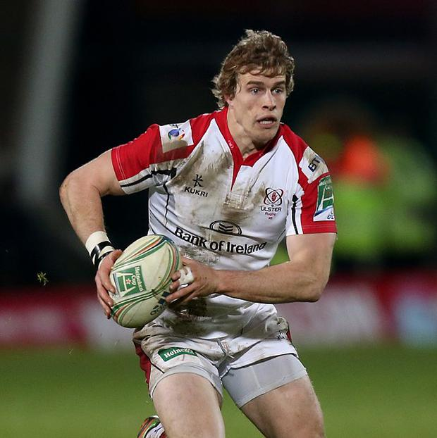 Andrew Trimble crossed for Ulster's only try