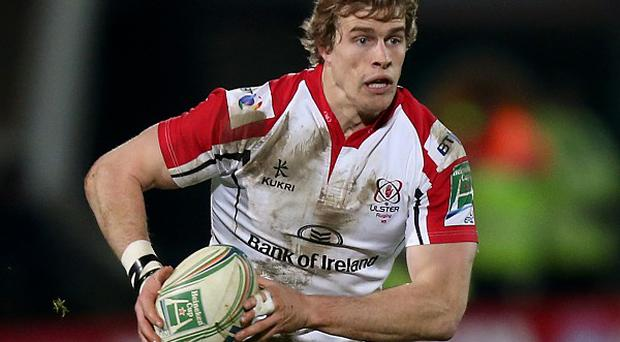 Andrew Trimble scored Ulster's only try in a memorable win at Montpellier.