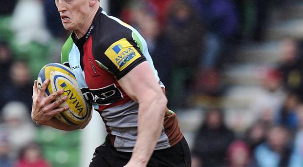 Tom Williams scored Harlequins' only try in a damaging defeat to Clermont.