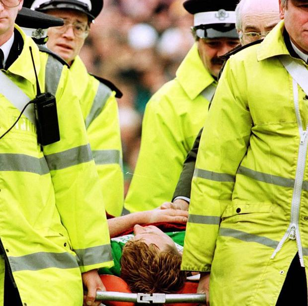 The link between concussions suffered in rugby and serious brain injury are being questioned