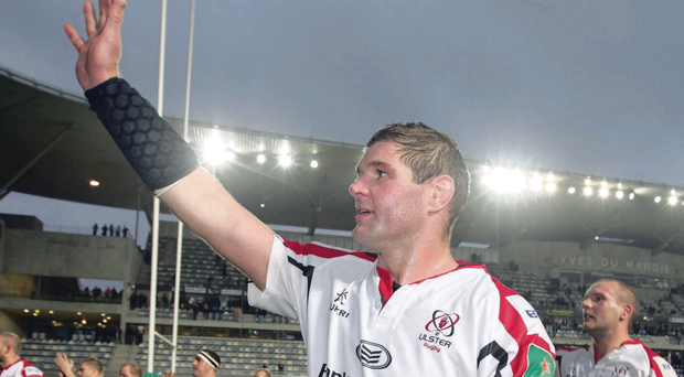French toast: Ulster skipper Johann Muller after the superb victory over Montpellier