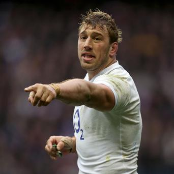 Chris Robshaw is expected to be named England captain.