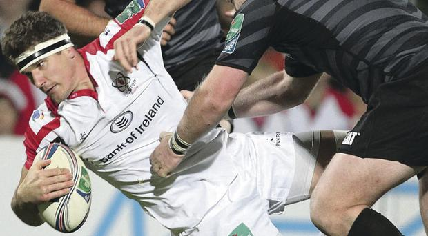 New contract: Robbie Diack is delighted to be playing a big part in Ulster's top class back row