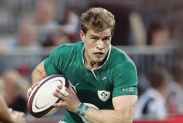 Out in the cold: There is no place for Andrew Trimble in Ireland's latest squad