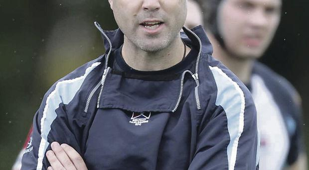 At a loss: Adam Larkin's side found Terenure College too hot to handle at the weekend