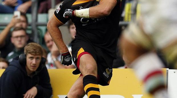 Andy Goode, pictured, starred in Wasps' win over Leicester.