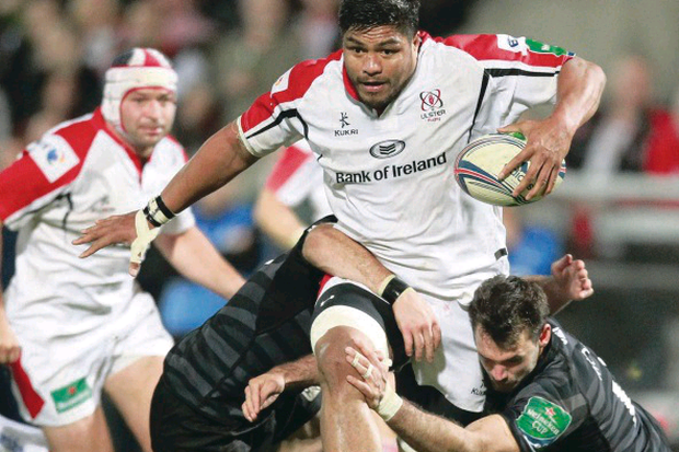 Ulster's Nick Williams suffered a recurrence of the calf injury that he sustained last month