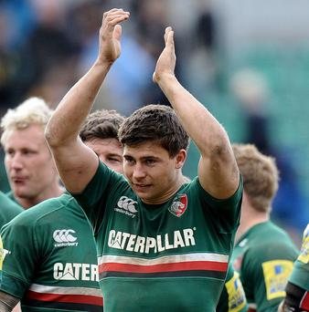 Leicester's Ben Youngs, pictured, will be hoping to be named in Stuart Lancaster's England team on Thursday