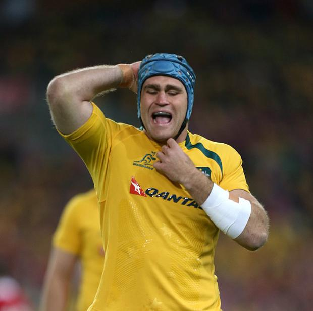 James Horwill has been replaced as Australia captain by Ben Mowen for this weekend's Test against England.