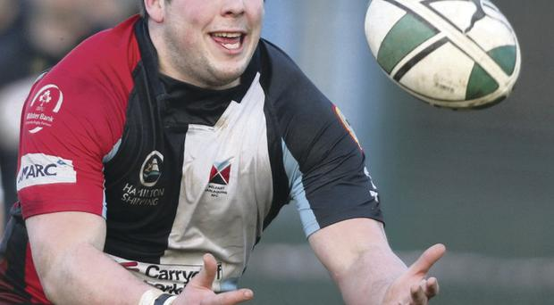 Neil Simpson is back for Belfast Harlequins after injury