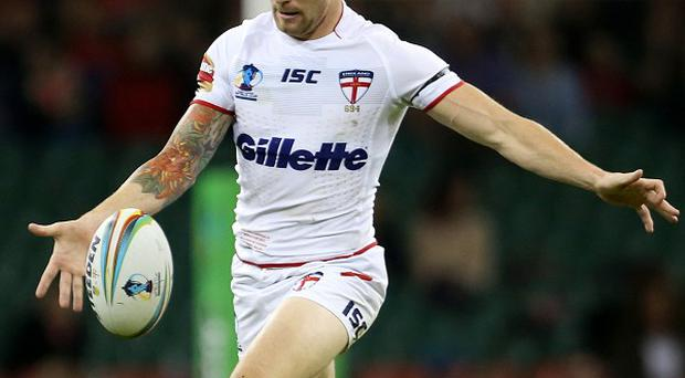 Sam Tomkins played in England's 42-0 defeat of Ireland.