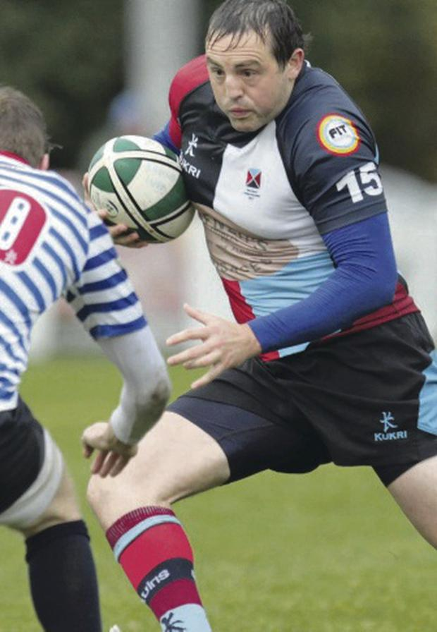 Mark Lettyle on the attack for Harlequins