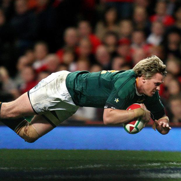 Jean de Villiers is ready for a tough encounter against Wales on Saturday.