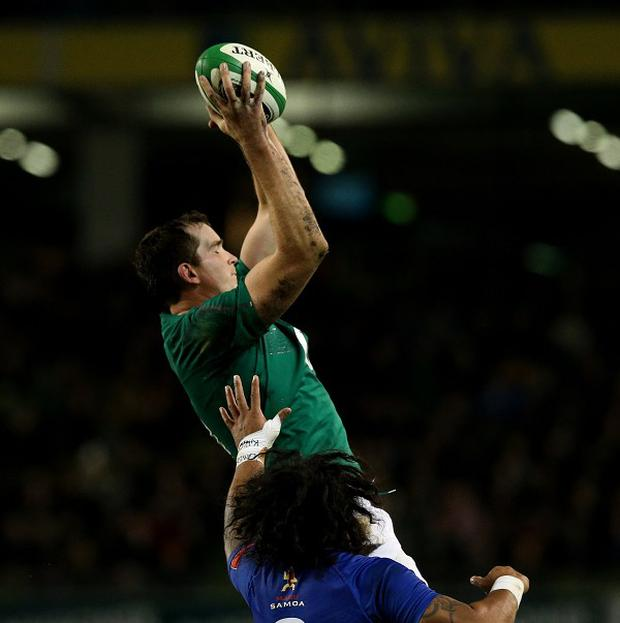 Devin Toner can help disrupt Australia's line-out on Saturday, tips Ireland's forwards coach John Plumtree.